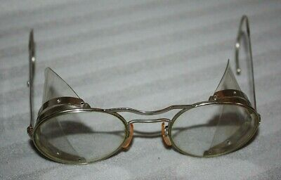 Vintage Industrial Safety Spectacles, Steampunk goggles, The Hadley Co Ltd