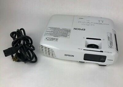 Clean Tested Epson EX3220 3-LCD Projector Home Theater HDMI - 3K Lumens H552A