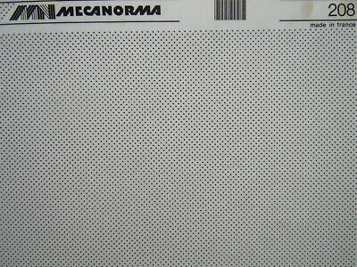 MECANORMA NORMATONE Dry Adhesive Transfer sheet UNIFORM DOT PATTERN #208