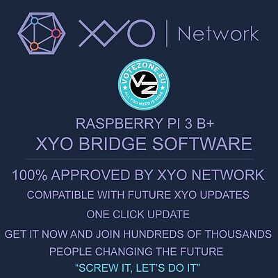 Xyo Network: Xyo Bridge Software On Micro Sd Card (For Raspberry Pi 3 B+)