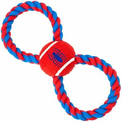 Buckle Down Spiderman Toys - Tennis Balls, Rope, Pull Tug (4 Styles)