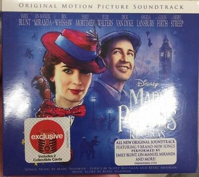 Mary Poppins Returns 2018 Disney Original Motion Picture Soundtrack CD