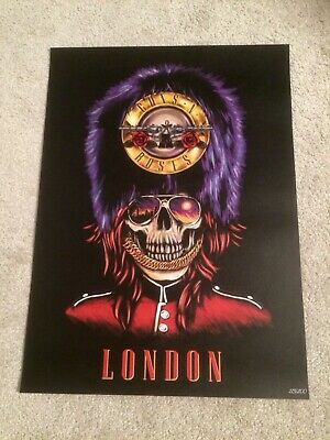 Guns N Roses Not In This Lifetime London Pop Up Store Ltd Lithograph / Print