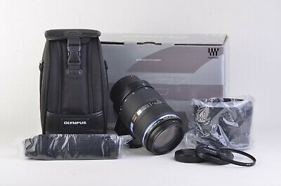 MINT- BOXED OLYMPUS ZUIKO DIGITAL 50-200mm f2.8-3.5 ED SWD 4/3 MOUNT, CASE, +UV