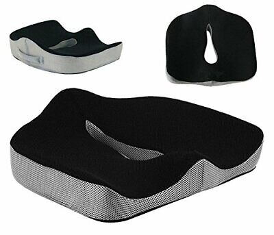 Memory Foam Seat Cushion for Relieving Back, Sciatica,Tailbone Pain UK Saler