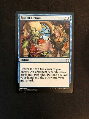 1X Fact or Fiction - Eternal Masters - PACK FRESH - Never Played - M/NM