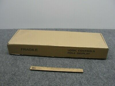 Logic Controls LD9900UP-GY20 Point of Sale Pole Display -NIB-
