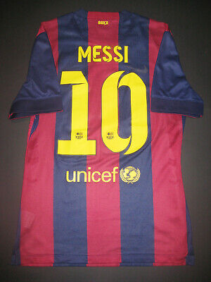 99754493432 2014-2015 Nike Authentic FC Barcelona Jersey Shirt Lionel Messi Match  Argentina