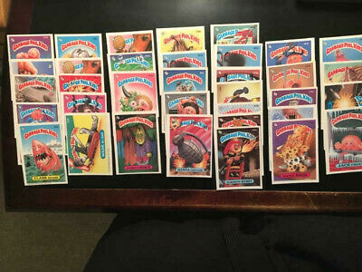 1980's GARBAGE PAIL KIDS (35) CARDS, EX-NM