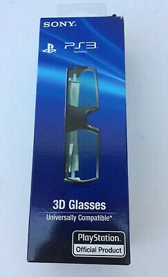 Sony PlayStation 3D Glasses PS3 3D Glasses NIB - Universally Compatible