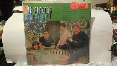 The SEEKERS Record Lp Georgy Girl in shrink Capitol ST-2431 60s ? very very good