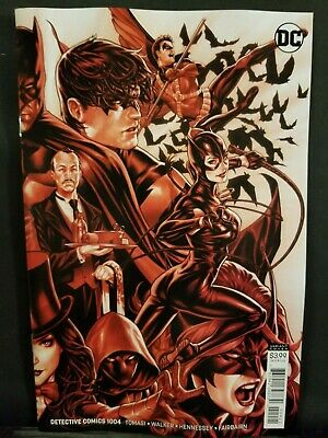 Detective Comics #1004    Mark Brooks Variant    Dc Comics  Catwoman  Batman