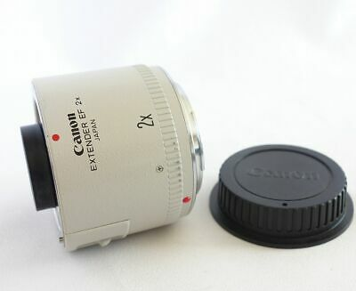 **Excellent++++** Canon EXTENDER EF 2x Teleconverter Lens w/ Rear cap from Japan