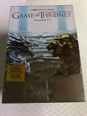 Game of Thrones ALL Seasons 1-7 Complete DVD Set Collection Series on 34 Disks