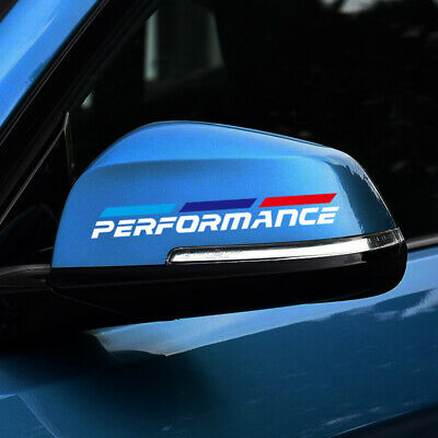 Reflective Tape Side Rear View Mirror Sticker Decal Universal For BMW 3 5 Series
