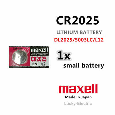 CR2025 Battery Button Coin Cell Lithium Battery 3V Melbourne stock