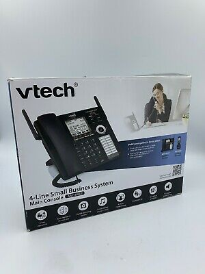VTech AM18447 Main Console 4-Line Expandable Small Business Office Phone System