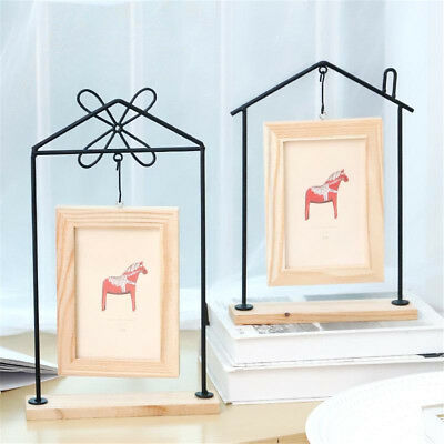 6''Double-Sided Hanging Photo Frames Picture Rustic Driftwood Chic Vintage Craft