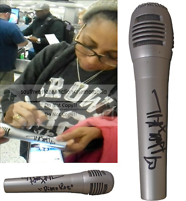 Holly Robinson Peete Signed Autographed Microphone Diana Ross Inscript Mic Proof