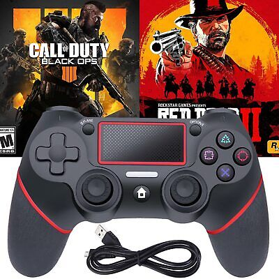 Wireless Bluetooth Gamepad Controller for Dualshock4 PlayStation 4 PS4 Sony