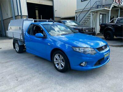2008 Ford Falcon FG XR6 Blue Automatic A Cab Chassis