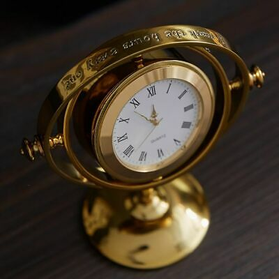 HARRY POTTER™ TIME-TURNER™ Gold Pottery Barn Table Clock