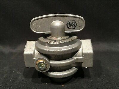 "1/2"" NPT Essex Gas Shut Off Valve Main Manual Model 300 Steveco Key 1/4 Turn NEW"