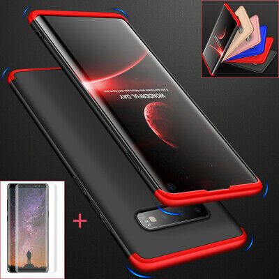 Samsung Galaxy Note 9 8 S9 S10 Plus Shockproof 360° Case Cover+Screen Protector