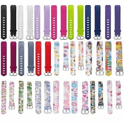Soft Replacement Kids Wrist Band Watch Strap For Fitbit ACE Smart Bracelet Child