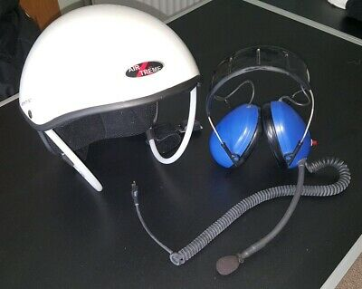 Paramotor Air Xrtrem Helmet with Heaset