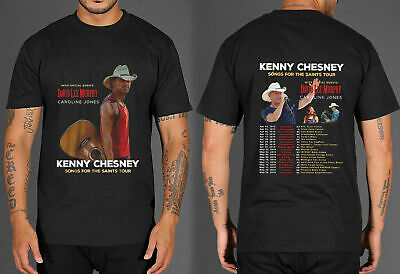 HOT LIMITED Kenny Chesney Songs For The Saints Tour 2019 T Shirts S-5XL