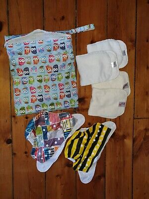 Baby One Size Nappies, Reusable Cloth Nappies bundle