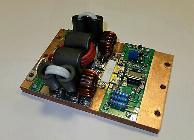 HF power amplifier pallet 1250W 1.8-54 MHz LDMOS MRF1K50H with copper plate