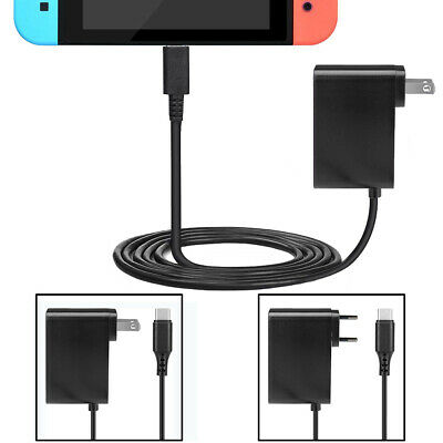 For Nintendo Switch Home Wall Charger AC Power Supply Adapter US/EU Plug