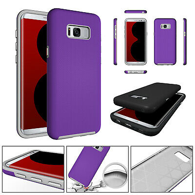 For Samsung Galaxy S8 Shockproof Armor Hybrid Rugged Tough Heavy Duty Case Cover