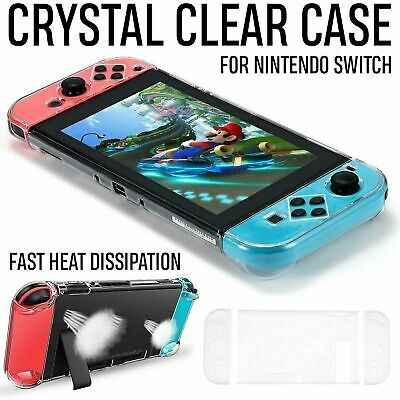 For Nintendo Protective Switch NS Case Hard Back Shell Clear Slim Case Cover