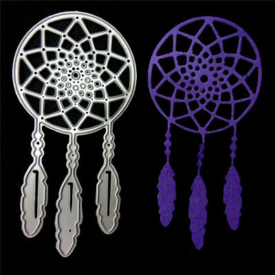 Dreamcatcher Metal Cutting Dies Stencil For DIY Scrapbooking Album Cards Deco Cw