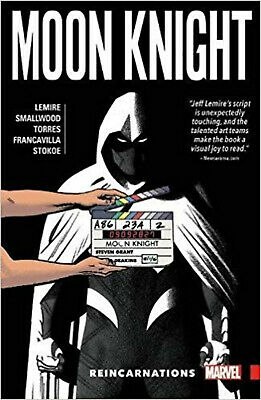Moon Knight Vol. 2: Reincarnations, Lemire, Jeff, Moench, Doug, Excellent Book