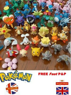 Pokemon Go Mini Figures Pikchu Pokémon Ball kids Children Boys Party Toys Gift