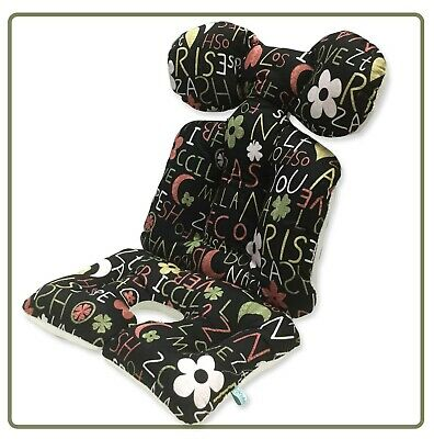 Baby Stroller Pad Car Seat Cushion Pad 100% Cotton 7 cm thickness