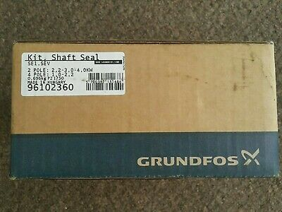 GRUNDFOS (ORIG.)Shaft Seal Kit SE1/SEV. 80.80 Shaft Seal C/D SL1, SLV 96102360