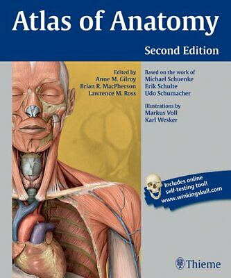 Atlas of Anatomy  by Gilroy Anne M