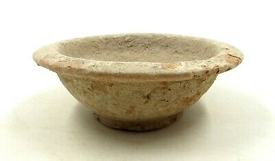 Authentic Ancient Roman Legionary Terracotta Bowl - L760