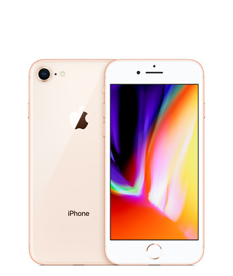 New *Sealed*Apple iPhone 8 Plus Unlocked Smartphone/Gold/64GB/A1897 AT&T T-MOB