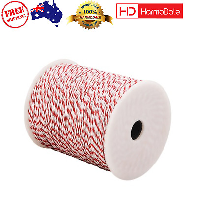 Giantz 500m Stainless Steel Polywire Poly Tape Electric Fence Antirust Stainless