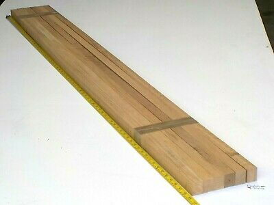 6 English Oak wood battens. 30 x 38 x 1745mm. Slats, sticks, lath, Strips. 3186