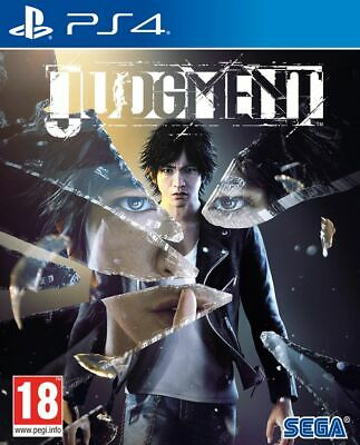 Judgment (PS4) New & Sealed UK PAL Free UK Postage IN STOCK NOW