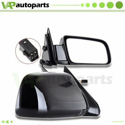 Pair Left & Right Power Non-Heated Side View Mirrors Fits Cadillac Chevrolet GMC