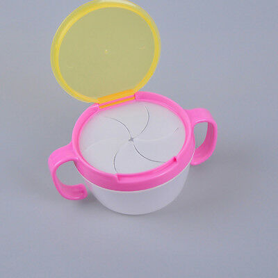 Baby Toddler Feeding Bowl Snack Food Keeper Pod Container Cup Drink Traveling n