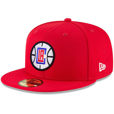 1381c1e715472 NEW ERA 59FIFTY Solid Team LA Los Angeles Clippers Fitted Hat Cap NBA